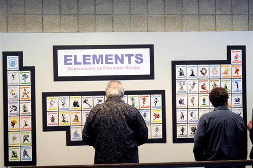 La ciencia de la vida elementos qumicos como personajes de cmic expuestos en forma de tabla peridica urtaz Choice Image
