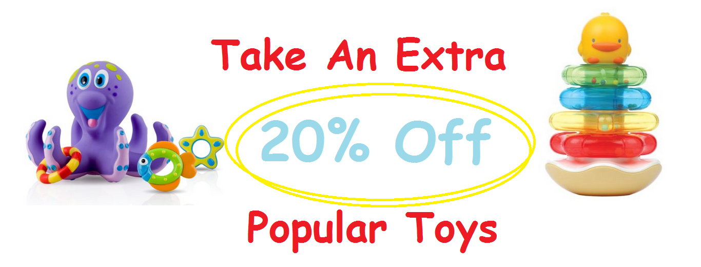Take An Extra 20% Off Popular Toys at Amazon!