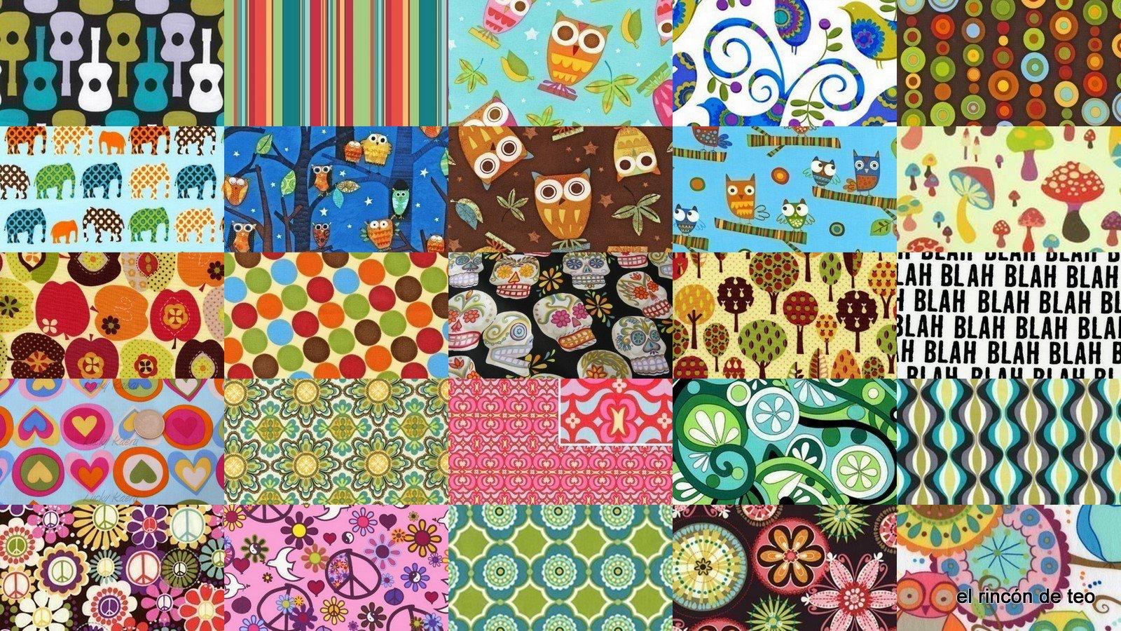 El rinc n de teo algunos de las distintas telas de dise o for Disenos de bolsos de tela