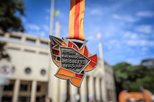 Medalha do circuito das estações 2013