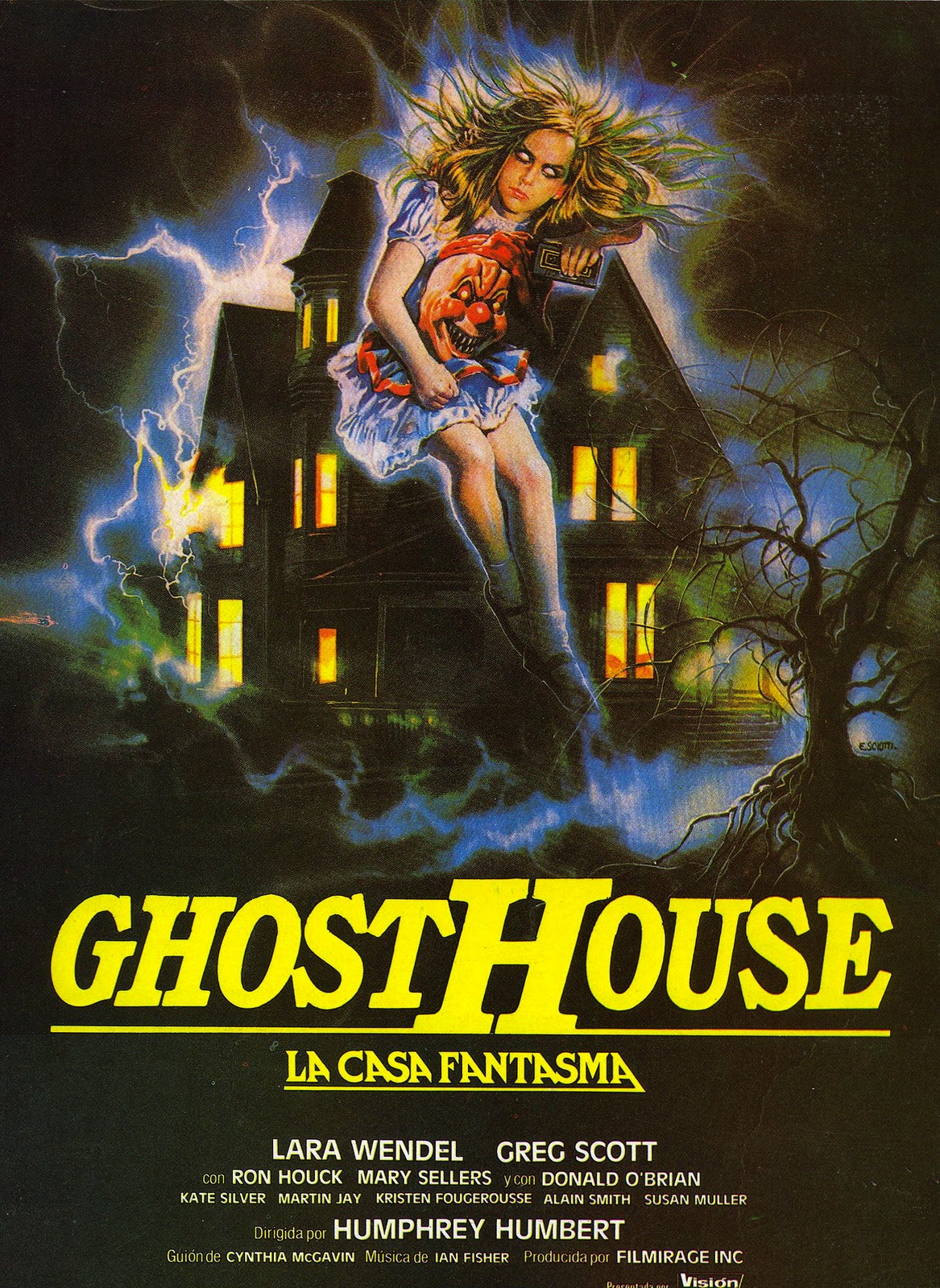 Cult Trailers Ghosthouse 1988