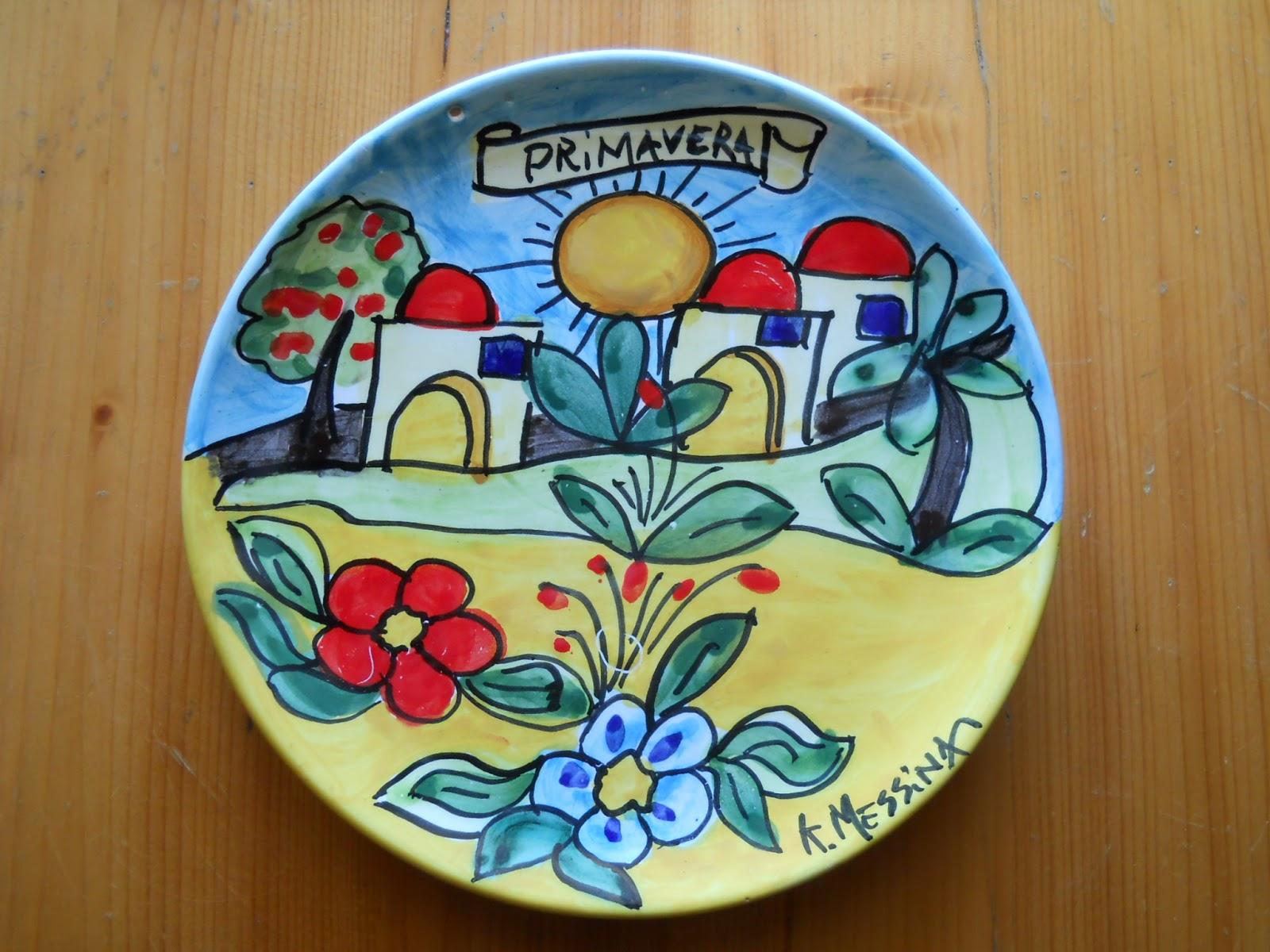 Ceramiche e dintorni: piatto murale