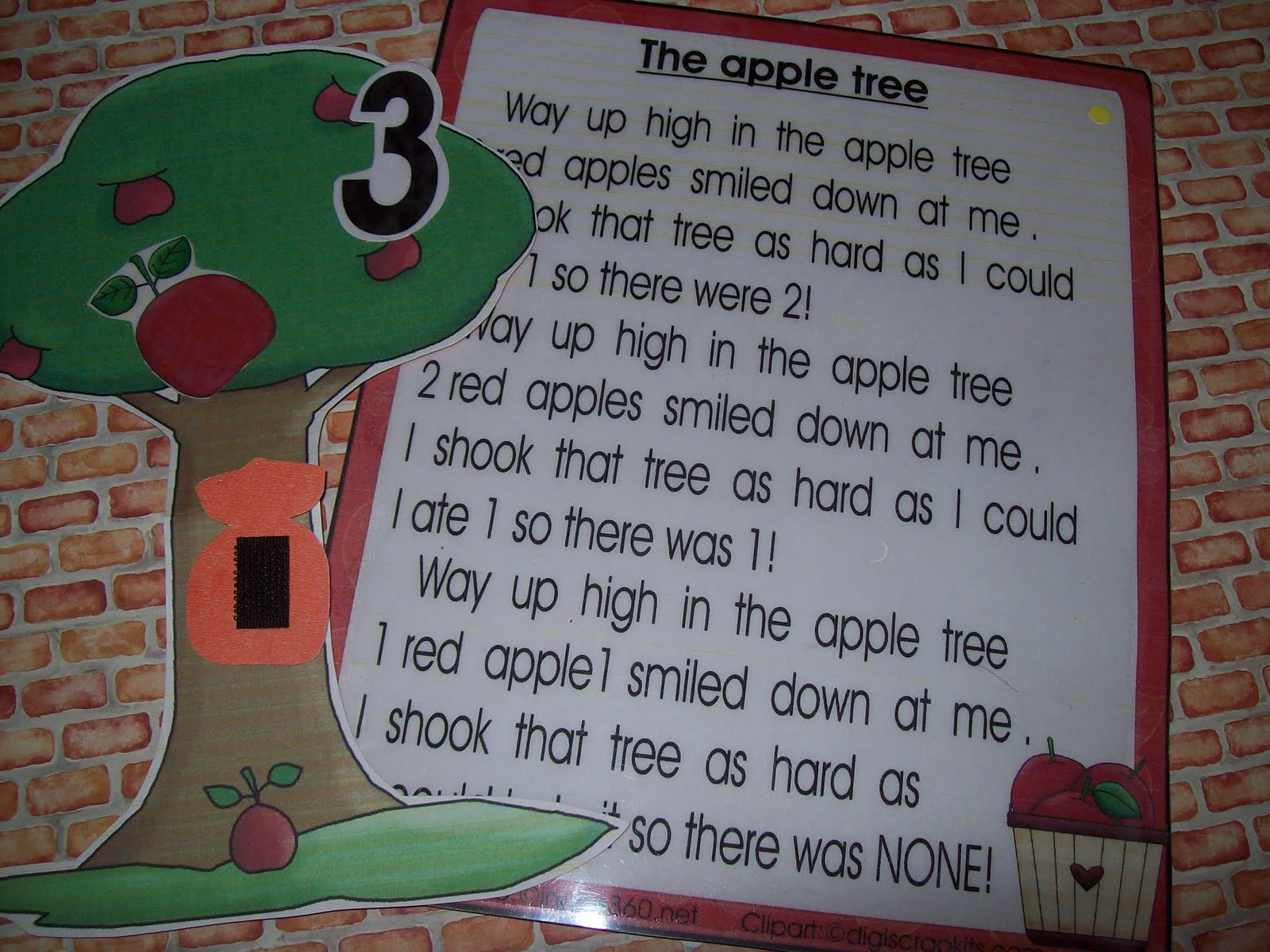 Up In The Apple Tree Classroom Freebies