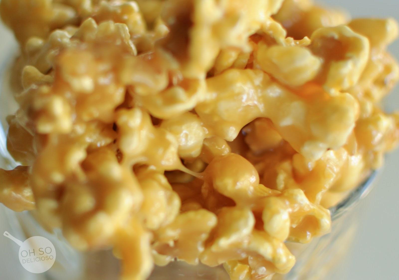 Oh SO Delicioso!: Doxey Caramel Popcorn