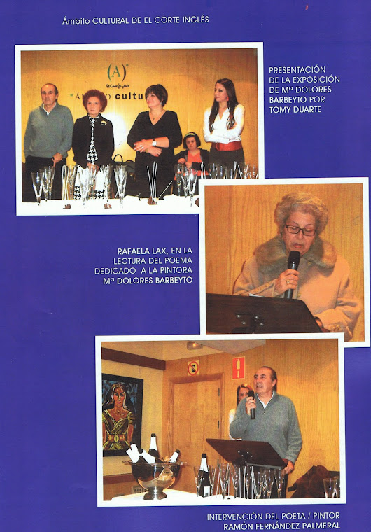 REPORTAJE DE LA EXPOSICION DE BARBEYTO EN LA CONTRAPORTADA REVISTA NUMEN