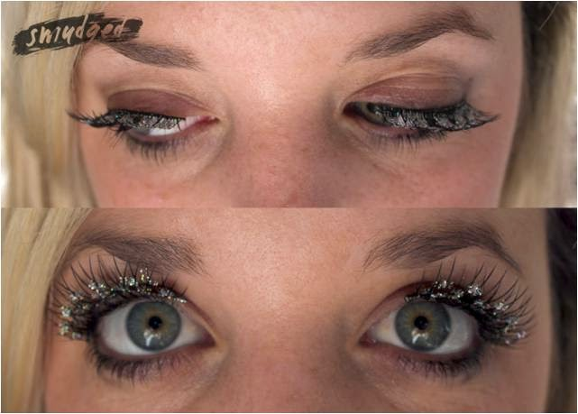 Get the Party Look with Glitter Stella False Eyelashes