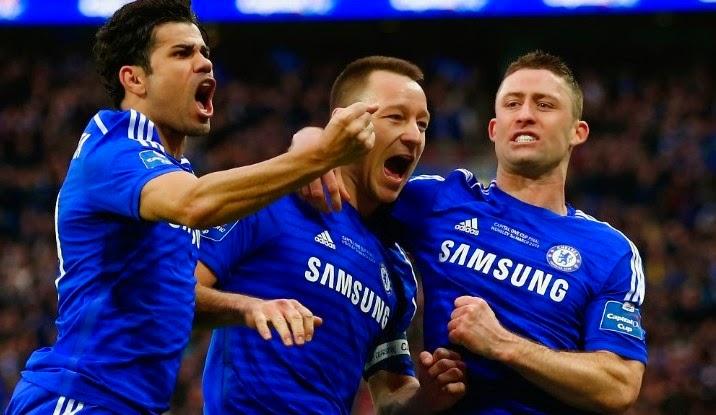 Chelsea Juara Capital one cup 2015