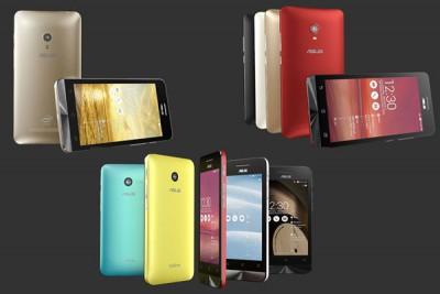 CES 2014, Asus Meluncurkan 3 Seri Zenphone