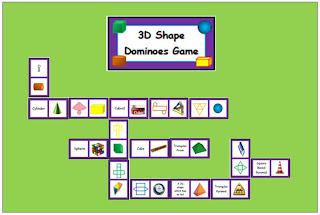 3D Shape Dominoes