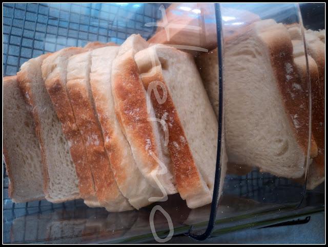 Pan de molde de leche receta casera