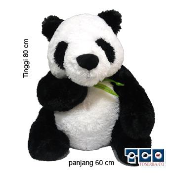 Boneka Panda Daun - Gambar Boneka
