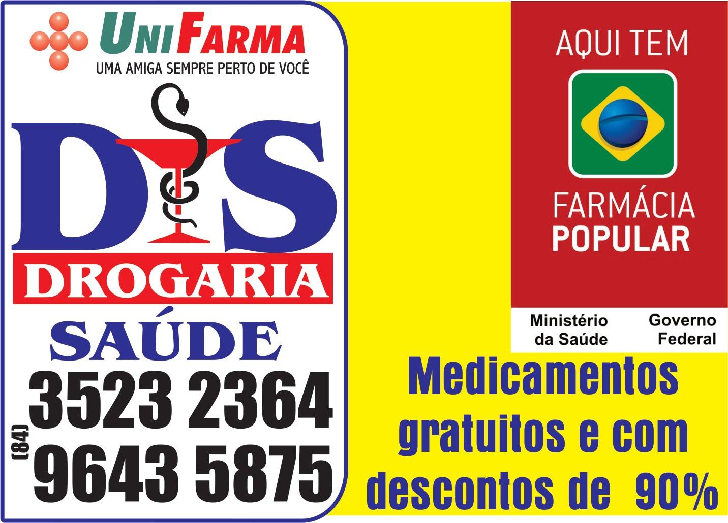 Drogaria Saúde tem UniFarma