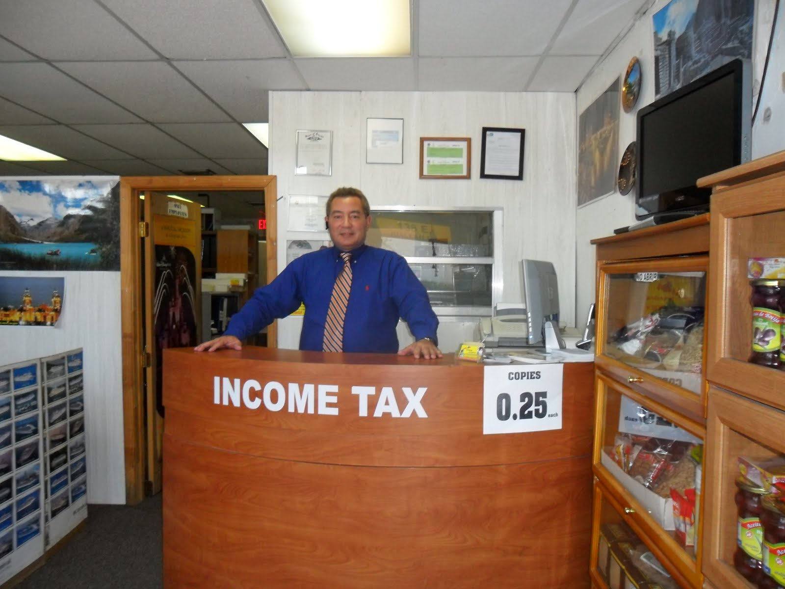 Jorge Income Taxes Oficinas Temporales