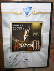 "My Autographed ""Batch '81"" copy"
