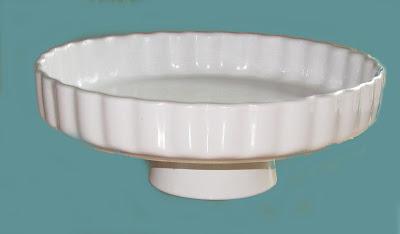 cake stand, cake, plate, white, diy
