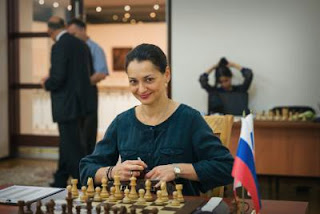 Echecs : Alexandra Kosteniuk à Tashkent - Photos © Maria Emelianova