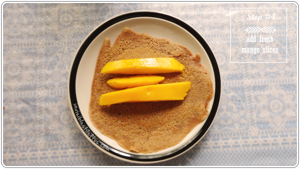 Chocolate Mango Pancake