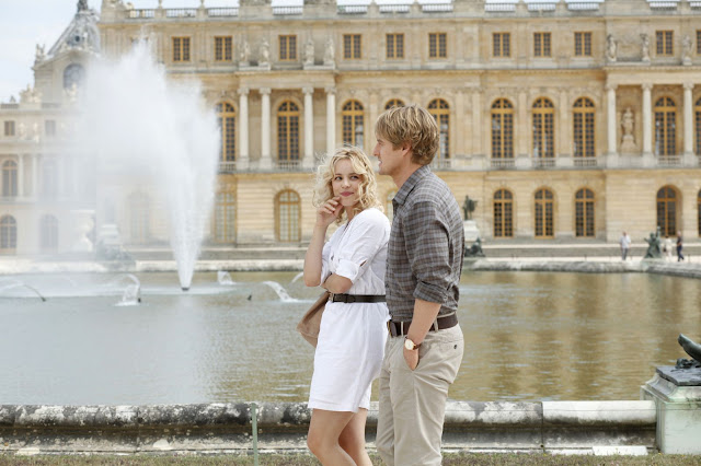 rachel mcadams and owen wilson as gil and inez in midnight in paris