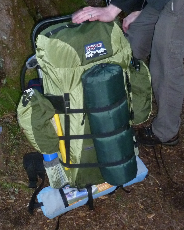 in my early days of backpacking i was looking for a backpack that had large capacity and was inexpensive as most of my stuff was bulky and at that point i - External Frame Hiking Backpack