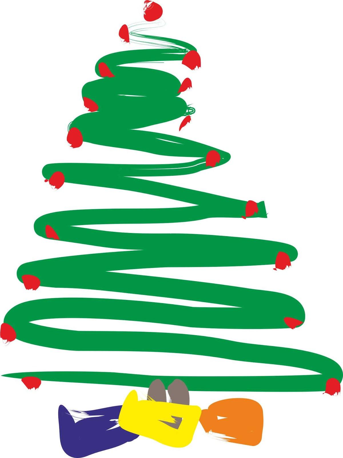 C e i p sotomayor y terrazas feliz navidad 2015 for Dibujo arbol navidad
