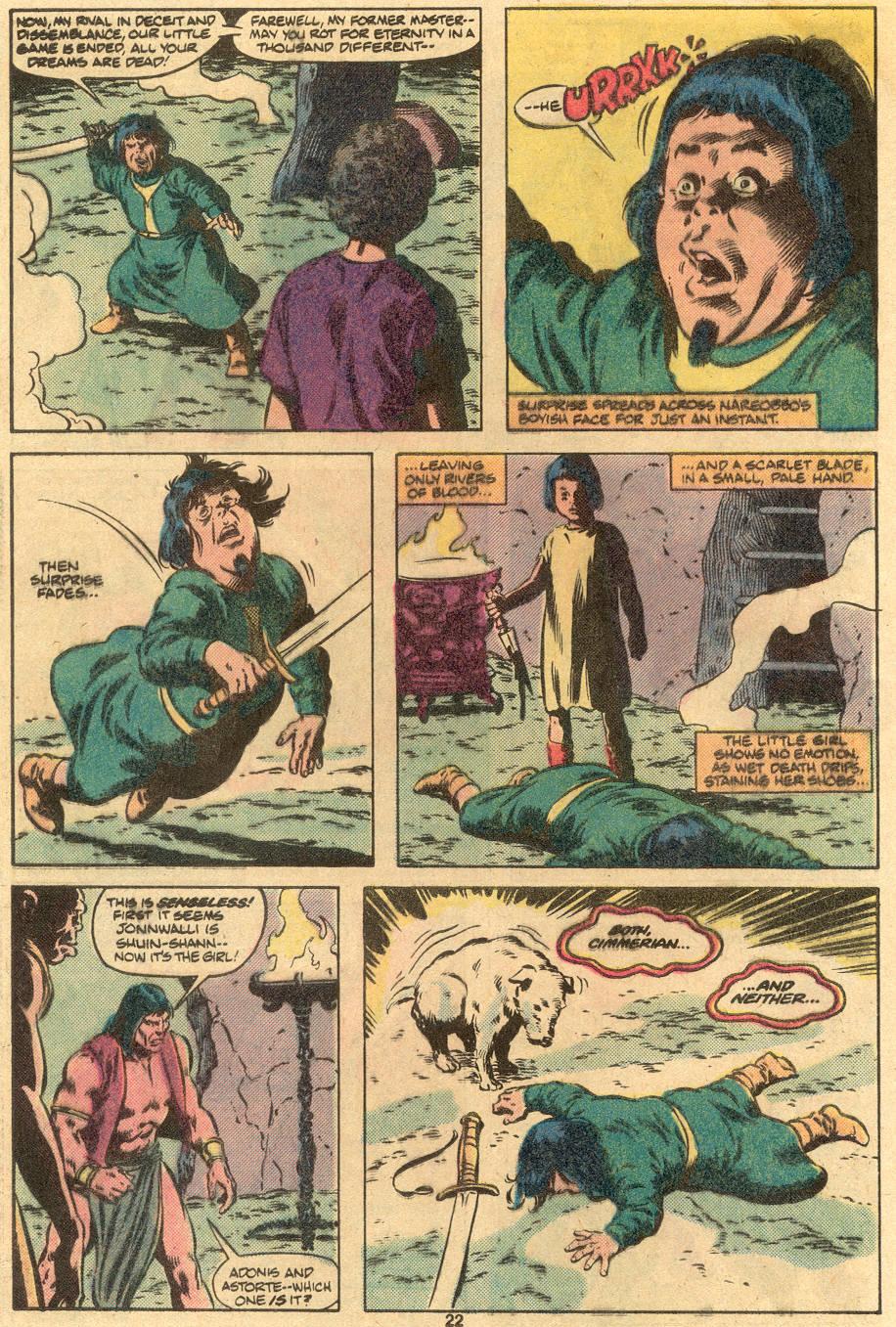Conan the Barbarian (1970) Issue #122 #134 - English 18