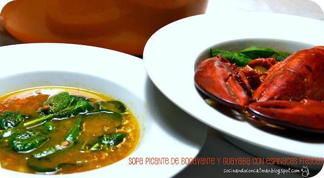 sopa de bogavante