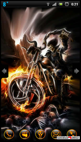 Theme Name : Ghost rider