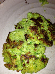 gluten free brussel sprout fritters