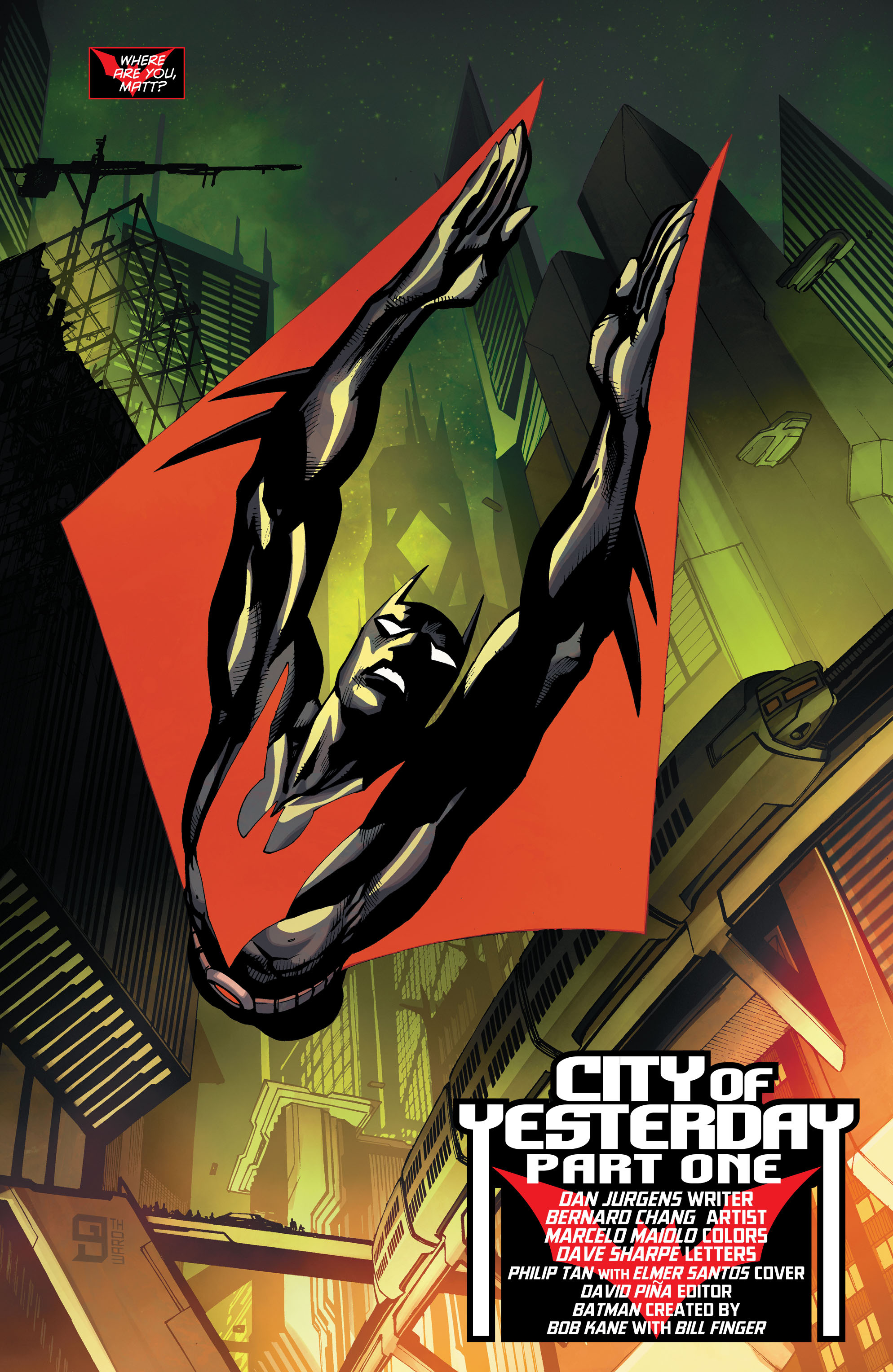 Batman Beyond (2015) Issue #8 #8 - English 3