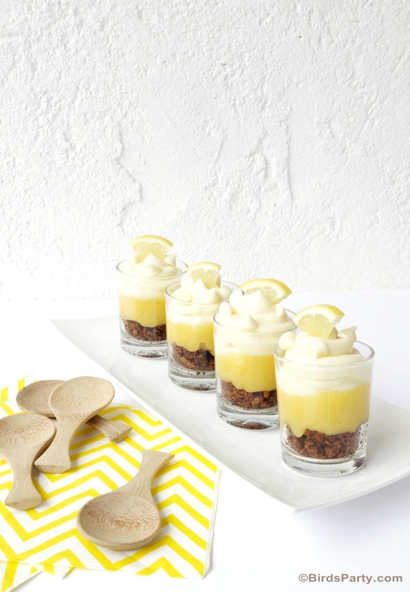 White Chocolate & Lemon Cheesecake Parfaits @NestleTollHouse #NestleTollHouse #NoBake #sweepstakes