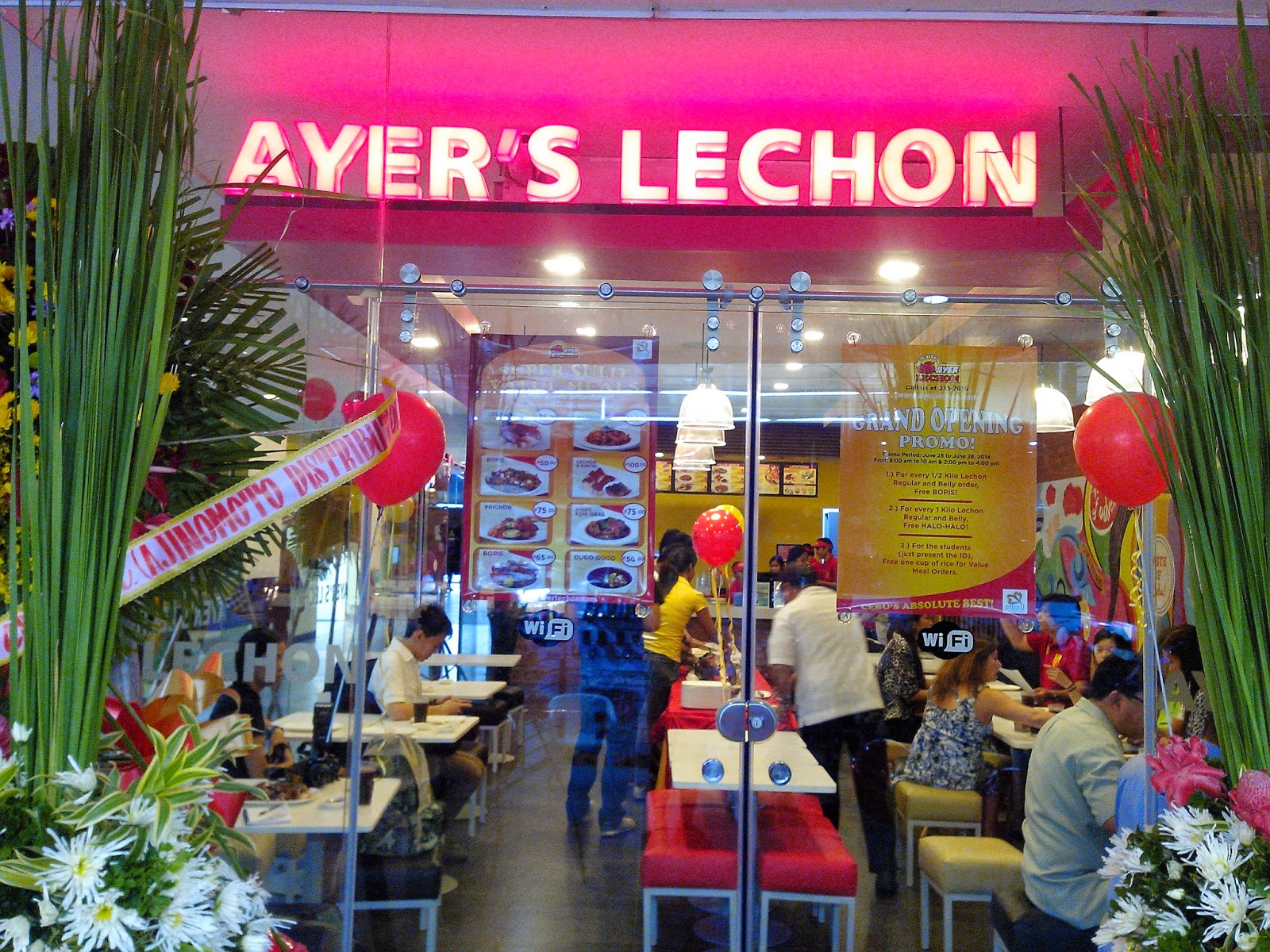 Ayer's Lechon Opens in Elizabeth Mall.