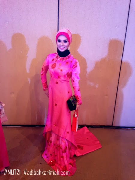 Adibah Karimah at Premium Beautiful Elegance show