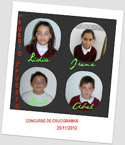 CONCURSO DE CRUCIGRAMAS