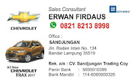 Info Chevrolet Lampung
