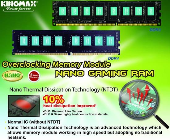KINGMAX DD4 Nano Gaming RAM