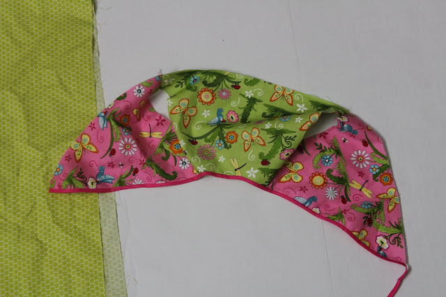 finish neckline with bias tape