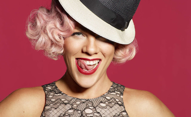 Top 20 Most Beautiful Female Celebrities: P!nk