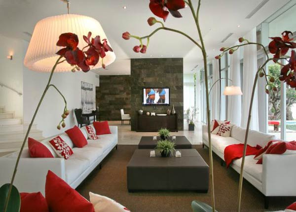decoracao de sala linda:How to Decorate Your Living Room with Flowers