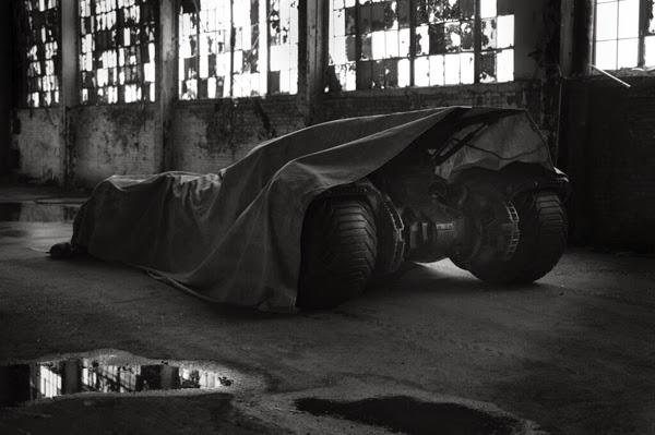 """Primera imagen del Batmovil de """"Batman Vs. Superman"""""""