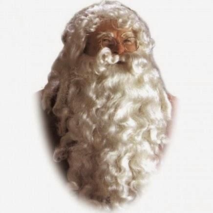 Barba y peluca Papá Noel Imperial