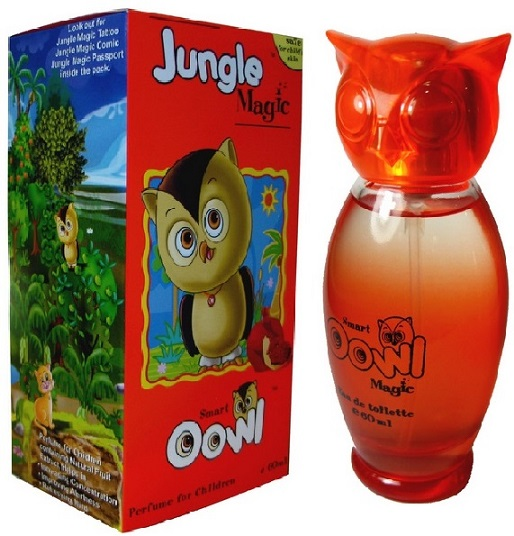 Jungle Magic Kids Perfume Owl Pomegranate Flavor