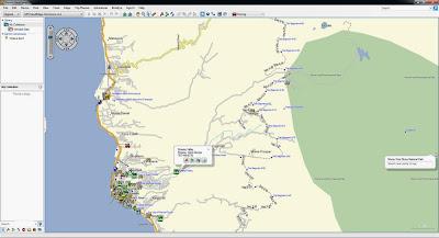 Map, GPS, Garmin