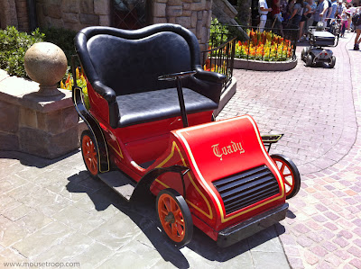 Mr. Toad's Wild Ride car motorcar auto Disneyland Fantasyland