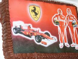 Nagyon csokis Ferraris torta
