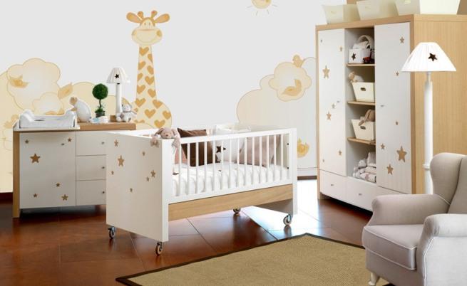 I d e a habitaciones de beb unisex - Habitaciones bebe modernas ...