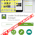 LoaderDroid, Download manager for android