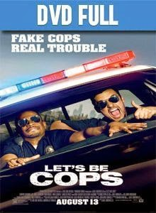 Let's Be Cops DVD Full Español Latino 2014