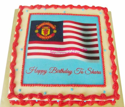 Birthday Cake Edible Image Jalur Gemilang