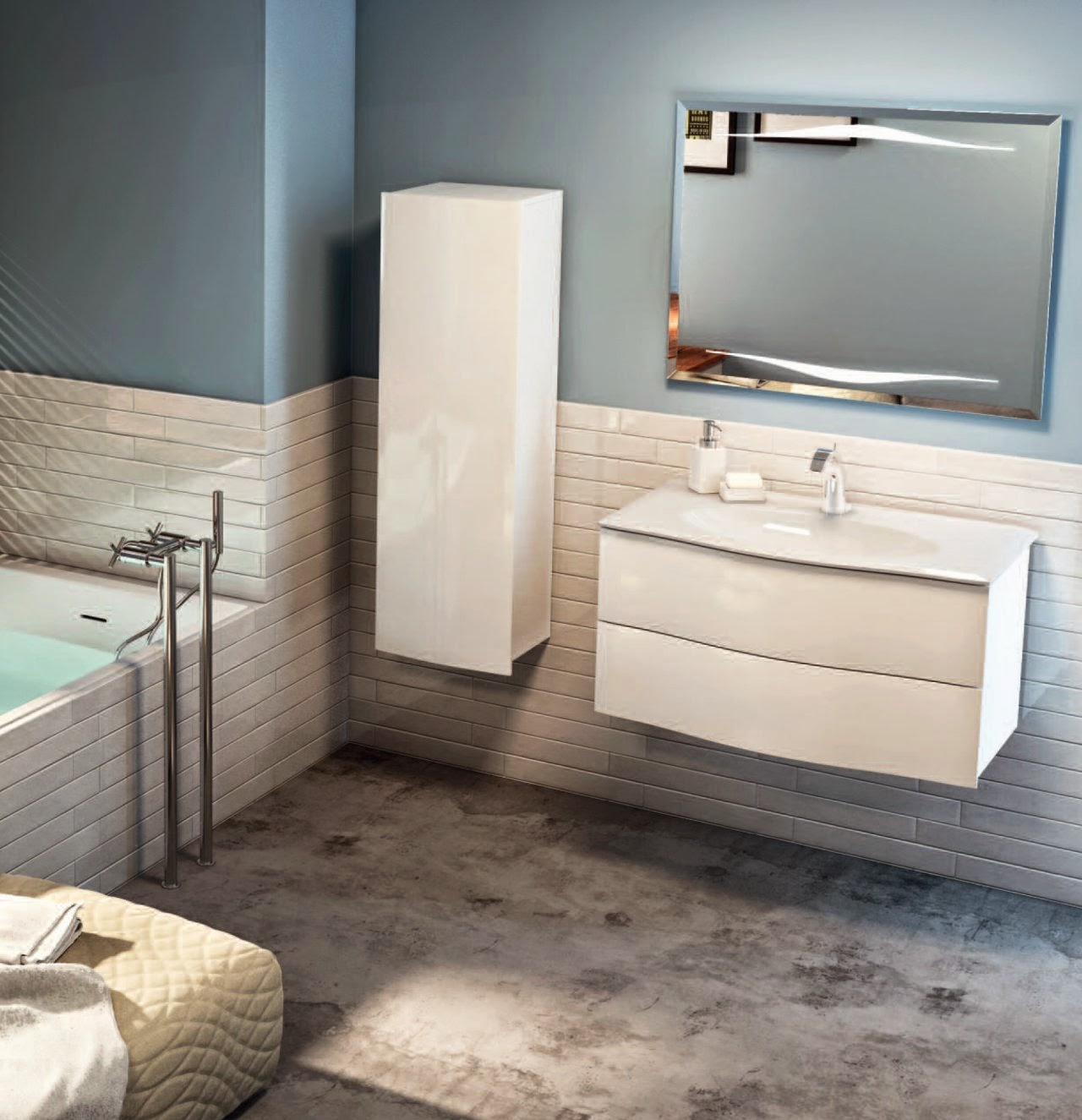 Aqualys burdin bossert prolians besancon collection for Poignee meuble salle de bain