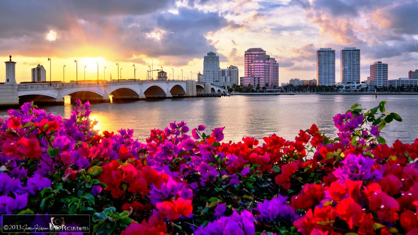 Meilleurs fonds d 39 crans paysages et fleurs fond ecran pc for Fon decran hd